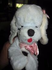 Vintage Master Industries Toy Poodle Dog Sleeping Stuffed Doll Plush w/Tag 13""
