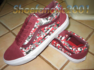 d17fb2cf2f Vans Sample Old Skool 9 Woven Textile Multicolor Pewter Supreme ...
