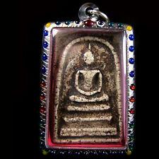 Thai benjapakee Amulets Somdej wat Rakang pim yai Real Old Antiques Buddha