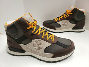 De otra manera Tío o señor calibre  Mens Timberland Field Trekker Mid Hiker Boots A23MD D71 Dark Brown | eBay