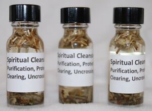 Details about Spiritual Cleansing Oil (1) Protection, Clearing,  Purification, Santeria, Hoodoo