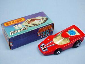 Matchbox-N-35-Fandango-Rojo-Caja-Original-Rolamatics-Coleccion-Coche-de-juguete
