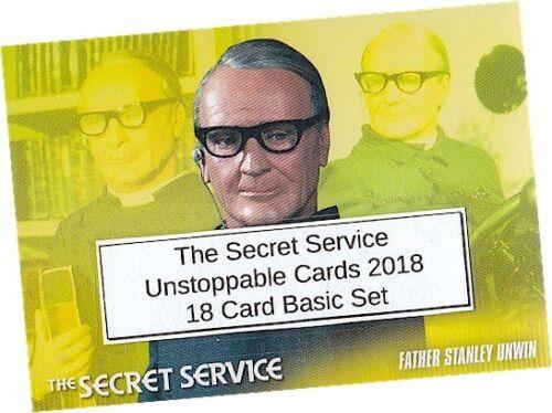 Unstoppable Cards 2018 The Secret Service 18 Card Basic//Base Set