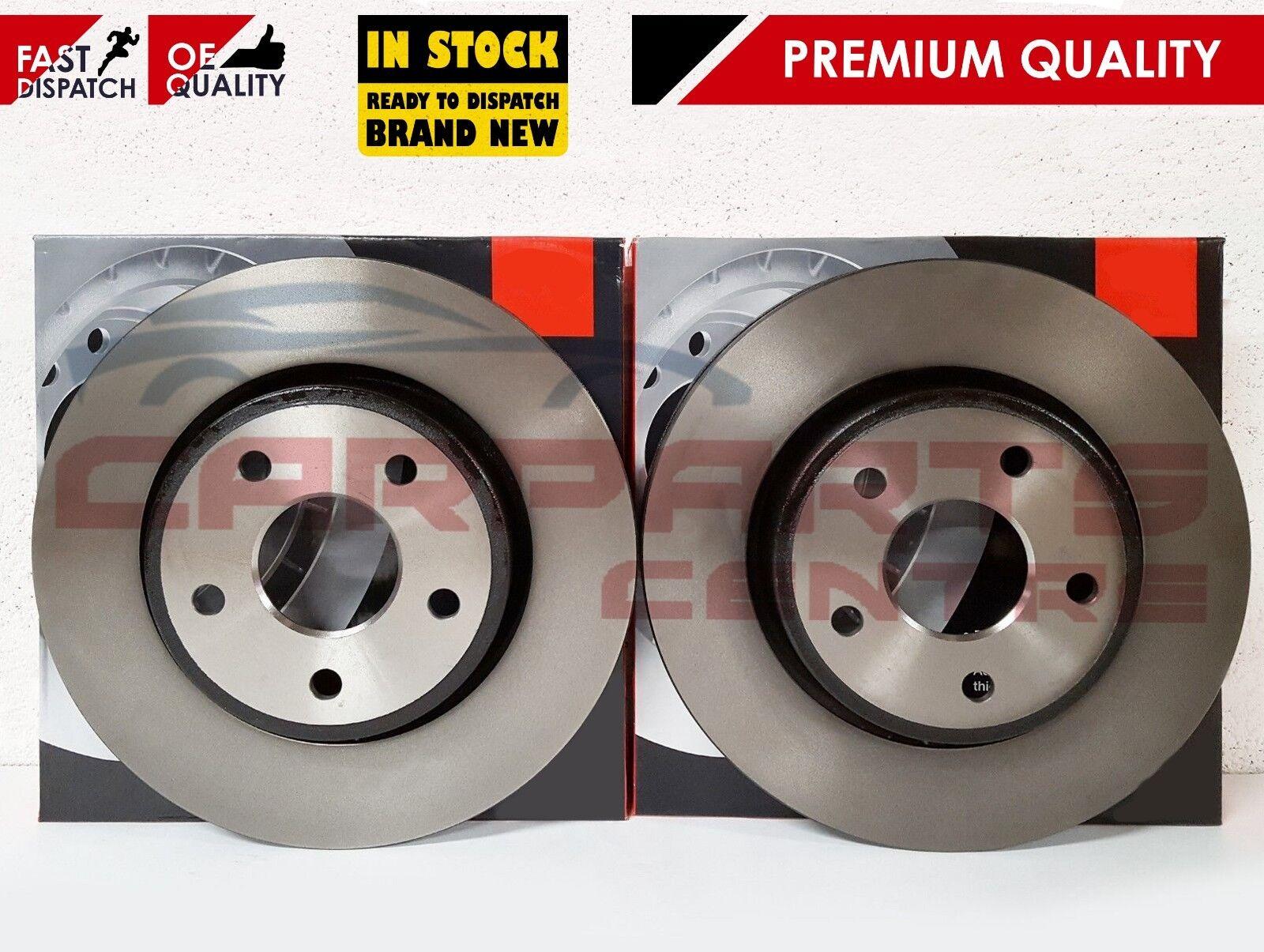 Front Rear Brake Discs+Pads Vauxhall Zafira 2.2 06//05