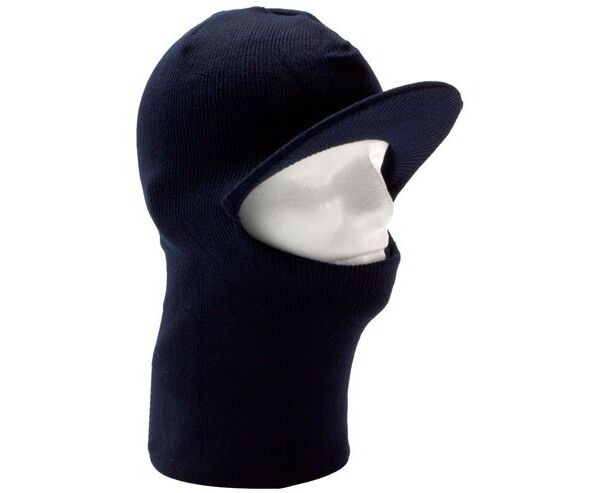 93b03c511dd Warm Knit Winter 1 One Hole Full Face Visor Ski Mask Beanie Hat Skull Men  Women. for sale online