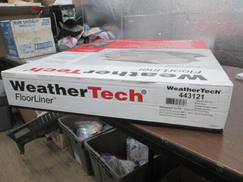 WeatherTech Black 1st Row Floor Liner 09-14 Ford Flex 10-15 Lincoln MKT 443121