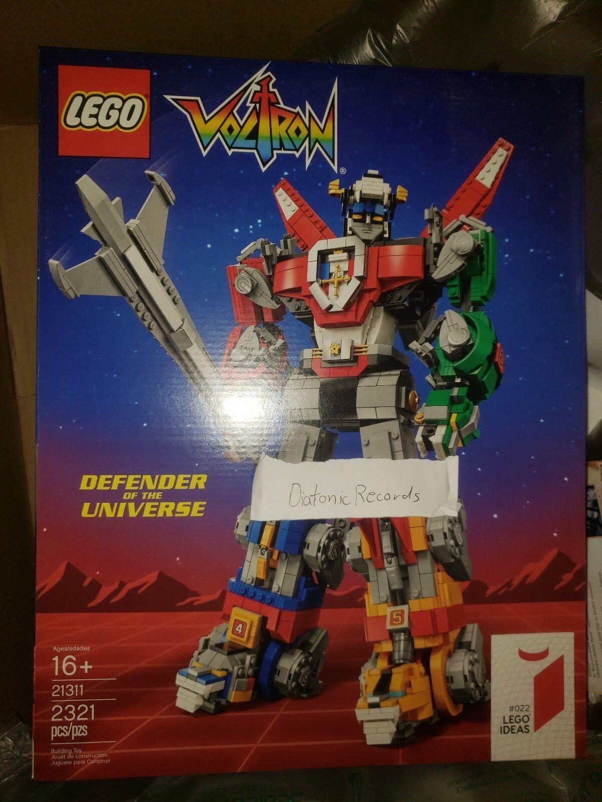 Lego Ideas Voltron 21311 Defensor Del Universo En Mano Listo Para Envío