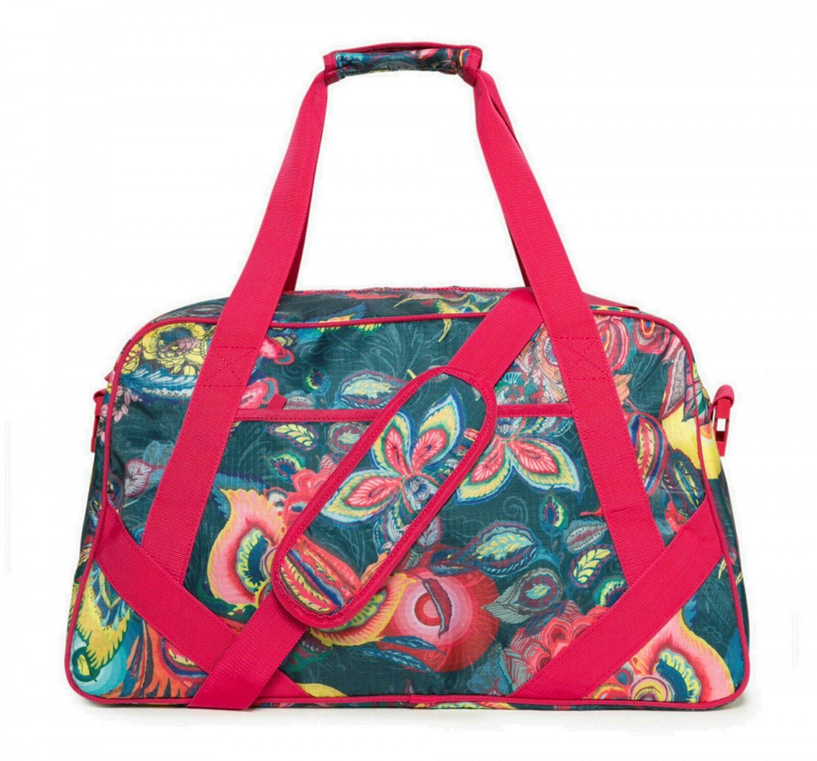 Desigual Galactic Bloom Gym Bag Sporttasche Umhängetasche Tasche