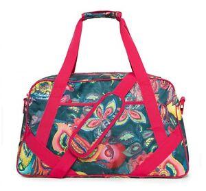Desigual-Galactic-Bloom-Gym-Bag-Sporttasche-Umhaengetasche-Tasche