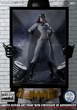 Batgirl - Dark City Comic Art Series  - 200 Limited Edition Print
