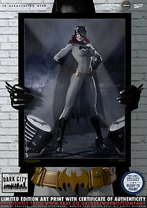 Batgirl-Gotham-Dark-City-Comic-Art-Print-Series-200-Limited-Edition-Print