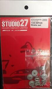 Studio27-ST27-FP20100-McLaren-MP4-8-Brake-Set-for-Tamiya-1-20-Scale