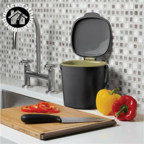 Kitchen Compost Food Waste Bin Household Laundry Supplies Dishwasher Store Home