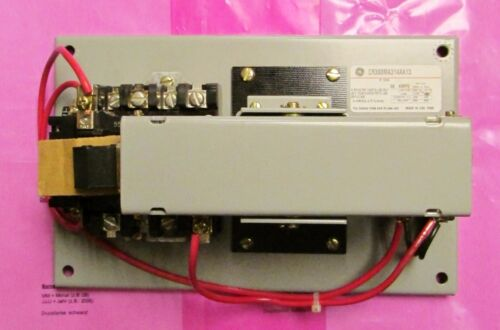 GENERAL ELECTRIC GE Lighting Contactor 265-277V 30 Amp 4 Pole CR360MA314AA13