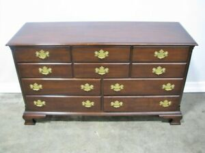 10 Drawer Statton Old Town Solid Cherry