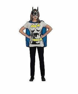d34042cd Ladies DC Comics Batgirl Superhero Fancy Dress T-shirt With Cape Extra  Large 69487000xl1. About this product. Stock photo; Picture 1 of 1. Stock  photo