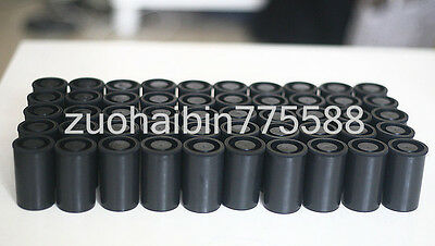 1000PCS Empty black bottle 35mm film cans canisters containers JH02