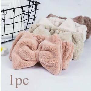 Cute-Fluffy-Hair-Band-Hairband-Bath-Spa-Shower-Makeup-Velvet-Headband-Wrap