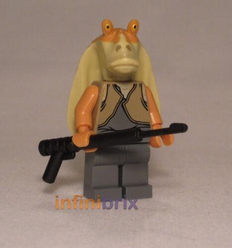 LEGO JAR JAR BINKS da Set 9499 Gungan sub 7929 BATTAGLIA NABOO STAR WARS sw301