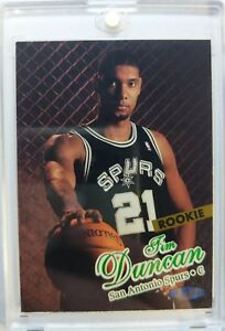 1997 97 98 Fleer Ultra Tim Duncan Rookie Rc 131 San