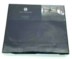 Hotel-Collection-King-Bedskirt-Qn-photo-039-d-Bedding-Black-16-034-Drop-NIP