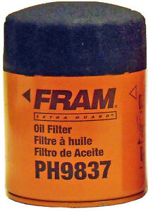 Fram-PH9837-Oil-Filter-06-10-Hummer-H3-05-09-Chevrolet-Trail-Blazer