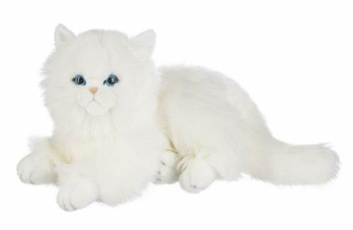 """Ganz Heritage Collection White Persian Cat 12/"""""""