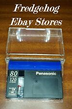 A QUALITY EXTRA LONG 2 HOURS PANASONIC DVM-80 MINI DV CAMCORDER TAPE / CASSETTE