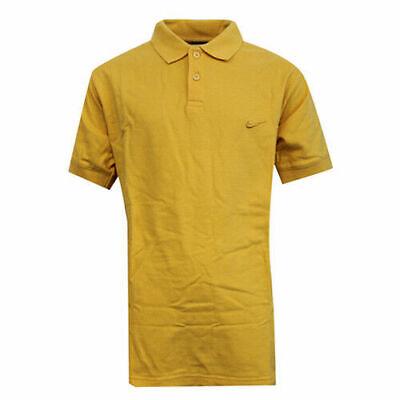Nike Apparel Boys Kids Yellow Button Up