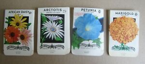 EMPTY 310B SEED PACKETS Wholesale Lot of 75 Old 1950/'s Vintage FLOWER