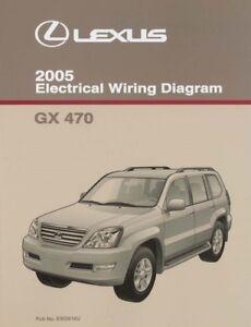 2005 Lexus GX 470 Wiring Diagrams Schematics Layout Factory OEM   eBayeBay