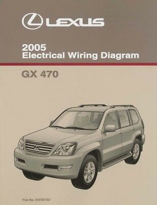 [DIAGRAM_4FR]  2005 Lexus GX 470 Wiring Diagrams Schematics Layout Factory OEM | eBay | Lexus Gx 470 Wiring Diagram |  | eBay