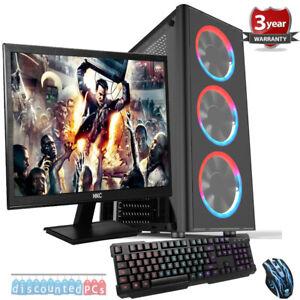 Details about Intel Core I5-9600K 6 core Gaming PC Bundle,SSD 23 6''  Screen,RTX 2060 6gb, w9