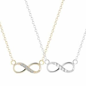 Infinity-Love-Necklace-Charm-Womens-Jewelry-Crystal-Pendant-Valentine-Day-Gift