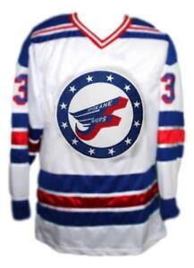 Any-Name-Number-Size-Spokane-Flyers-Custom-Retro-Hockey-Jersey-White