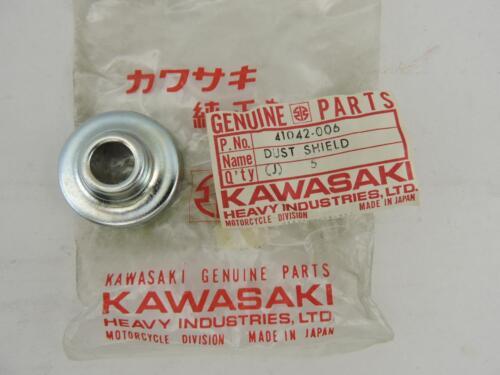 41042-006 NOS Kawasaki Front Brake Dust Shield G31M KH100 F6 F7 Enduro 70s S458b