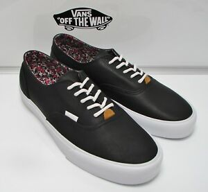 33bdc1a998 Vans Era Decon CA Leather (Nappa Leather) Black VN-0OX1B8K Men s ...