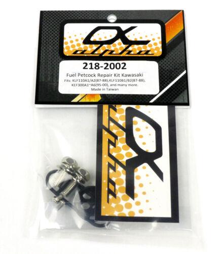 KAWASAKI KLF250A Bayou KLF 250 2003-2011 Fuel Petcock Repair Kit Shutoff Valve