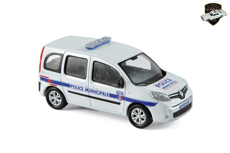 RENAULT KANGOO 2 2013 - Voiture Police municipale France - 1 43 NOREV 511323