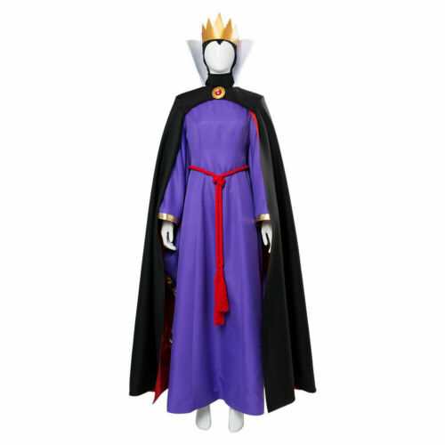 Movie The Snow White Evil Queen Full Set Cosplay Costume Halloween