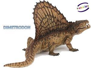 DIMETRODON-DINOSAUR-PAPO-55033-DINOSAURUS-JURASSIC-WORLD-6-1-2-X4-FIGURINE