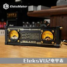 Eleksvu2 Analog Vu Meter Pickup Light Rgb Light Level Voice Control With Backlight
