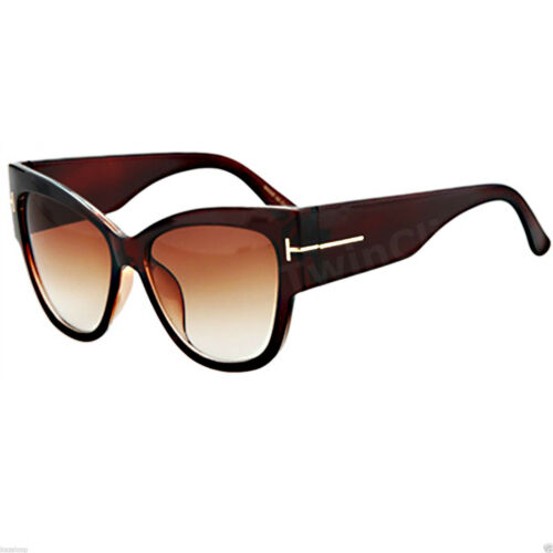 Occhiali da sole iFremes Occhi di Gatto Cat Eye Acetato Gradient Donna OverSize