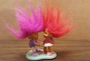 russ trading valentine s troll dolls boy magenta girl red hair