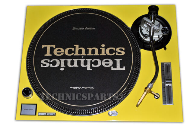 Technics Face Plate For Technics SL1200/1210MK5/SL1200M3D Yellow