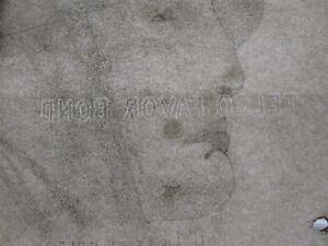ANTIQUE-1935-AMERICAN-FOLK-FINE-ART-ARTISTIC-BENITO-MUSSOLINI-GREAT-DEPRESSION