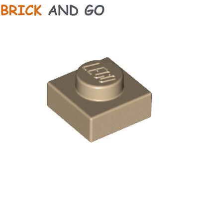 NEUF NEW 8 x LEGO 3021 Plaque Plate 2x3 brick yellow, tan beige