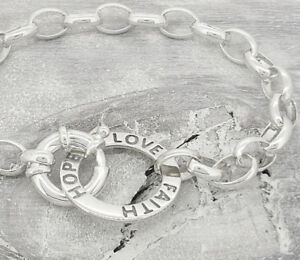 Faith-Hope-Love-Sterling-Silver-Bracelet-with-Bolt-Ring-Clasp