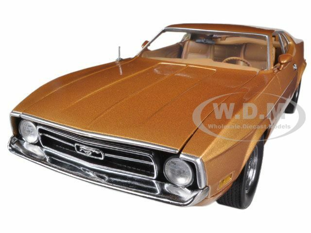 Envio gratis en todas las ordenes 1971 Ford Mustang Sportsroof marrón 1 18 Diecast coche coche coche modelo SunEstrella 3619  para proporcionarle una compra en línea agradable