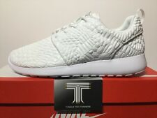 "Nike Roshe One DMB QS Rosherun ""Triple White"" ~ 824286 100 ~ Size 7.5"